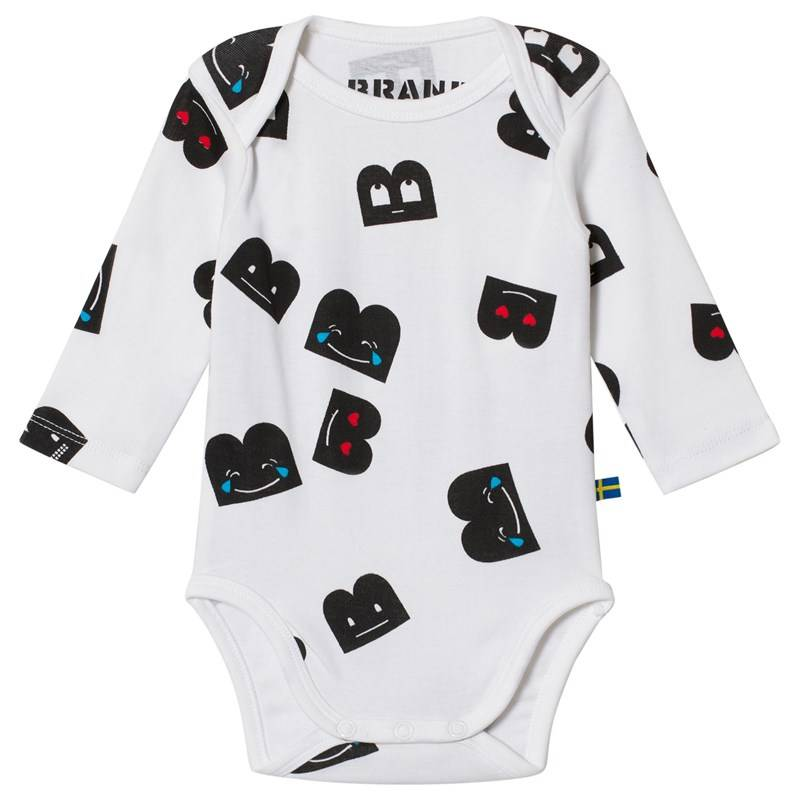 The BRAND Baby Body Aop B-Mojis56/62 cm