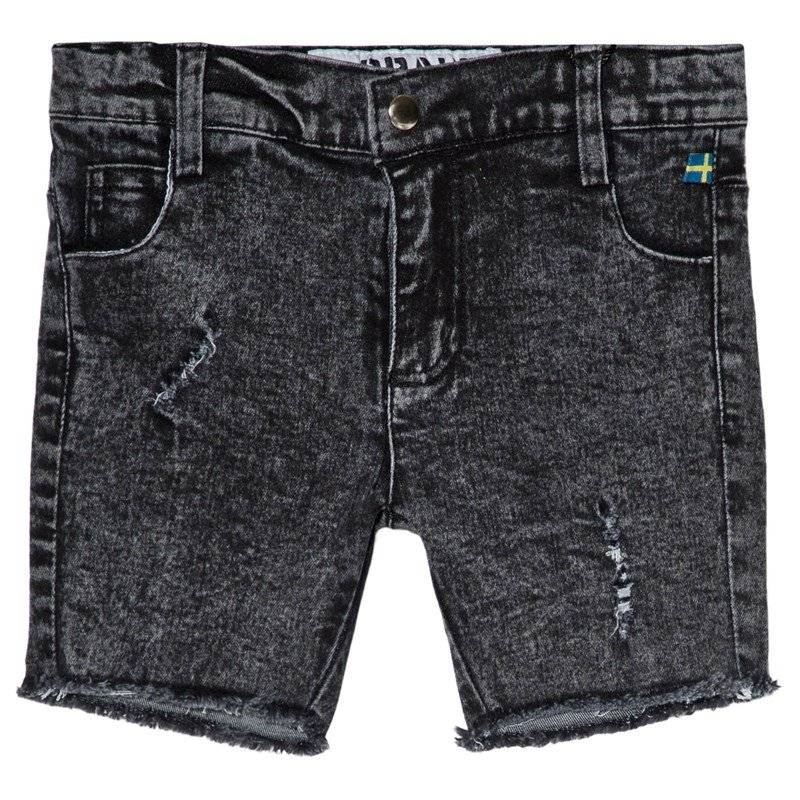 The BRAND Stone Wash Shorts Distressed Grey80/86 cm