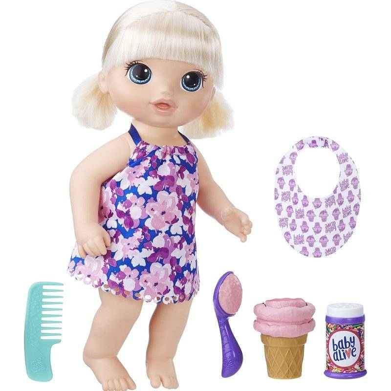 Baby Alive Magical Scoopes Baby Girl Blonde
