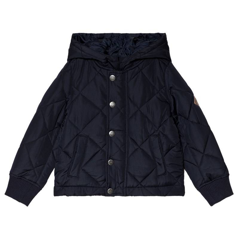 Joules Navy Murray Quilted Hooded Jacket11-12 years