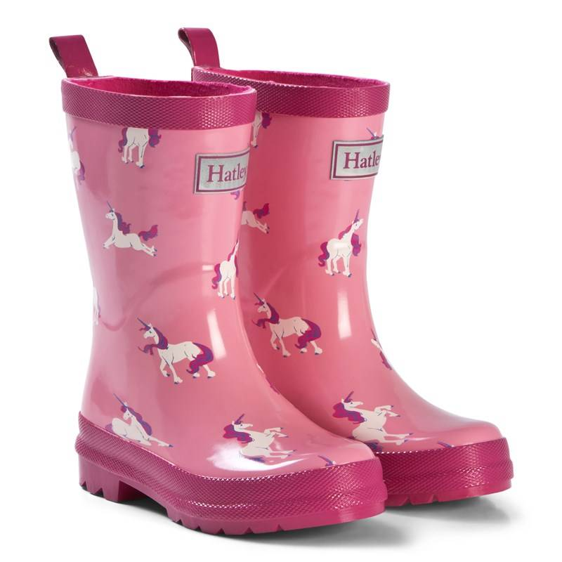Hatley Majestic Unicorns Kumisaappaat Vaaleanpunainen21 (UK 4)