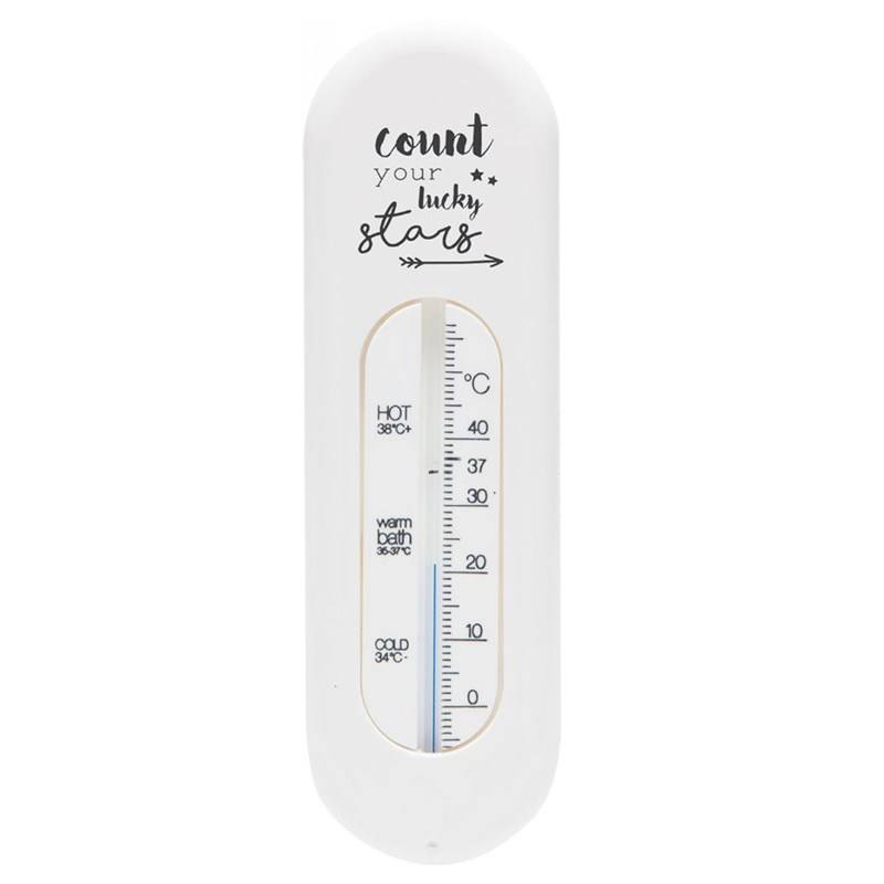 Bebe-Jou Bade-termometer, Lucky Quotes, White