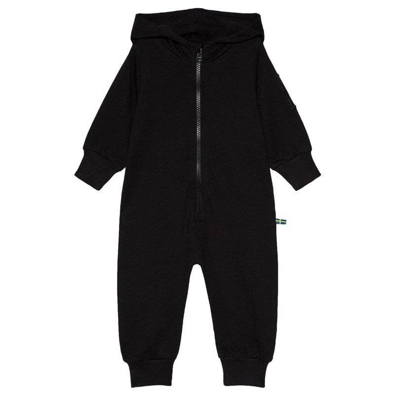 The BRAND One-Piece Hoodie Musta56/62 cm