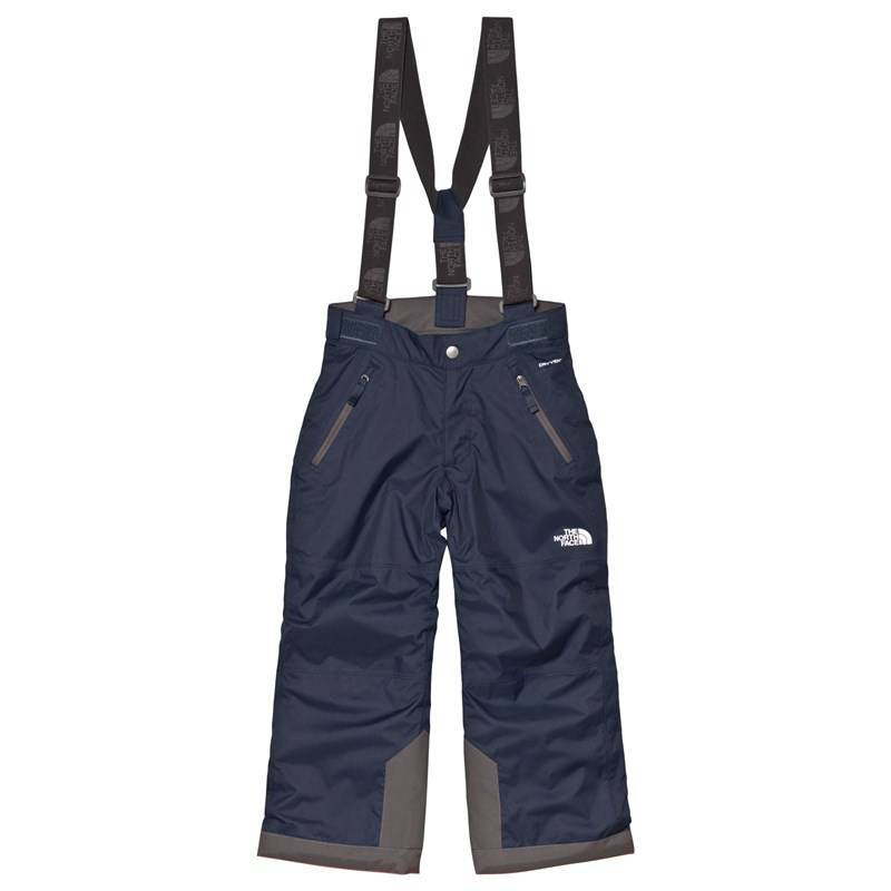 The North Face Navy Snow Quest Suspender Ski PantsXS (6 years)