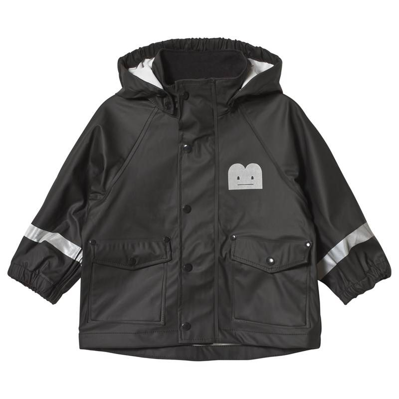 The BRAND Rain Jacket solid Black74/80 cm