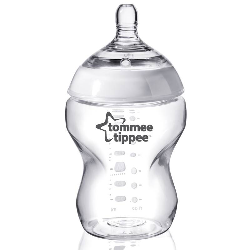 Tomme Tippee Tommee Tippee, Tuttipullo 260 ml, Transparent