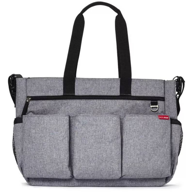 Skip Hop Hoitolaukku, Duo Double, Signature, Heather Grey
