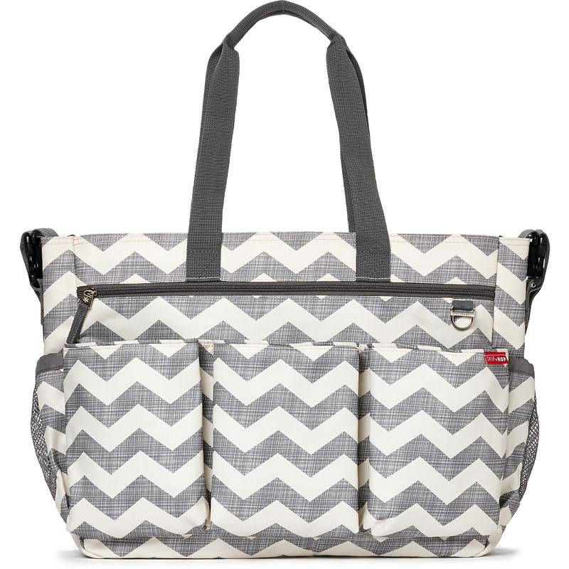Skip Hop Hoitolaukku, Duo Double, Signature, Chevron