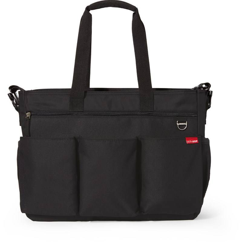 Skip Hop Hoitolaukku, Duo Double, Signature, Black