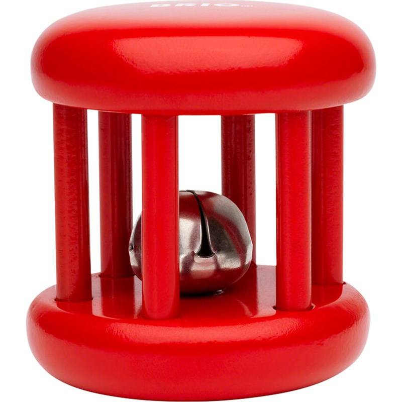 Brio Bell Rattle Red