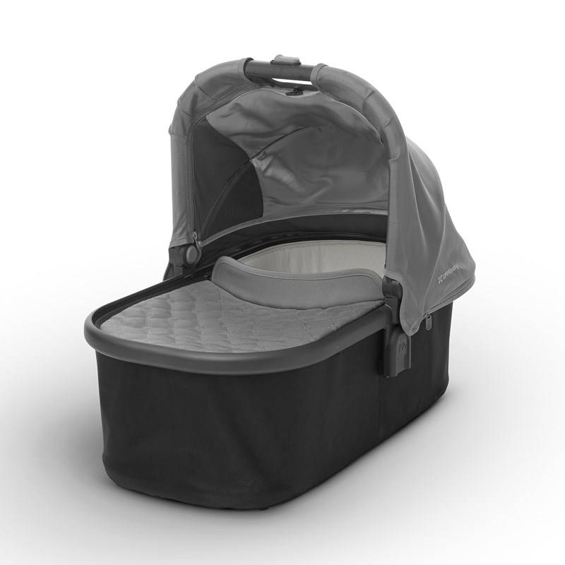 UPPAbaby Vista/Cruz Carry Cot Pascal (Grey) - Carbon Frame