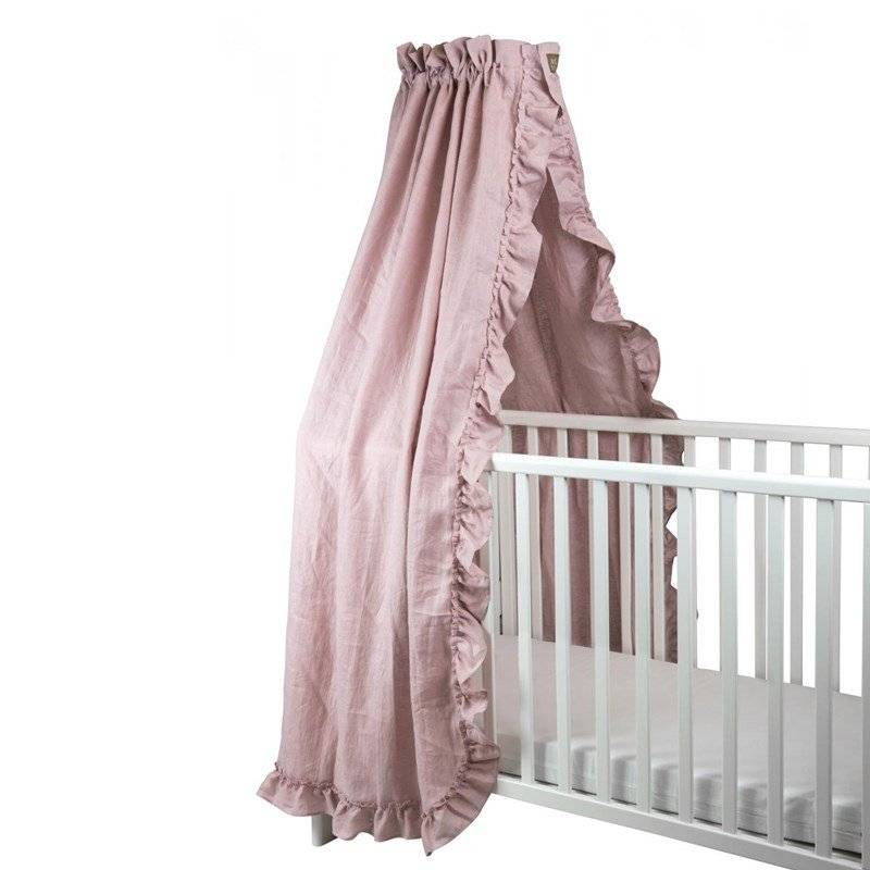 NG Baby Vuodekatos Mood Ruffles rose
