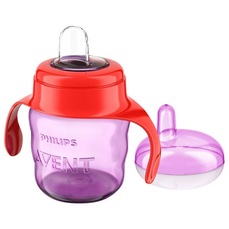 Philips Träningsmugg, Spout Cup, 200 ml, Purple