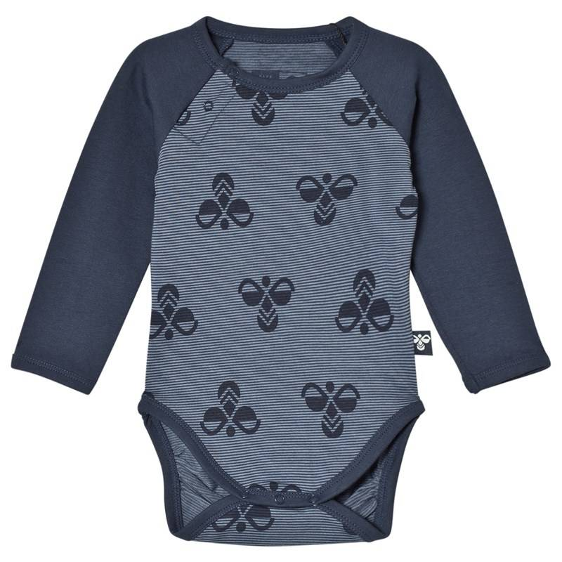 Hummel Harrison Baby body Blue Mirage68 cm (4-6 kk)