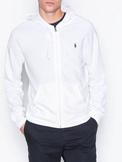 Image of Polo Ralph Lauren Long Sleeve Terry Knit Puserot White