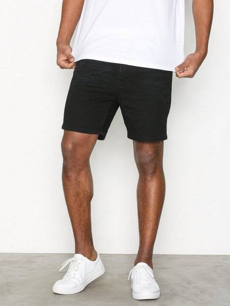 Velour Julian Shorts Black Swan Shortsit Black
