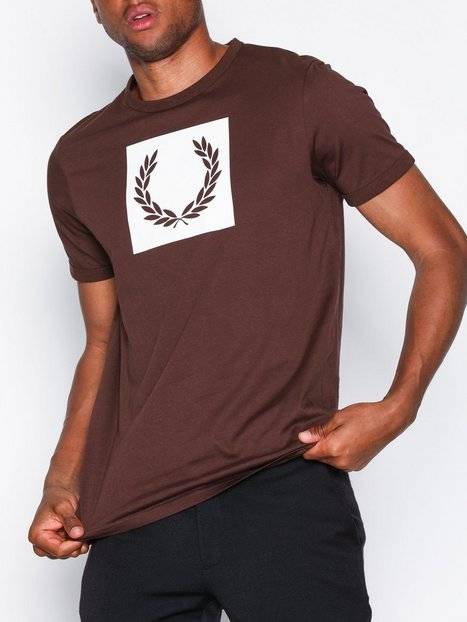 Fred Perry Printed Laurel T-Shirt T-paidat ja topit Punainen