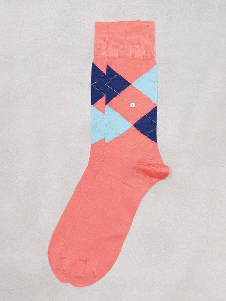 Burlington Manshester Sock Sukat Rose