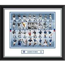 merchandise Rangers Legends Of Ibrox Double Mounted Kuva