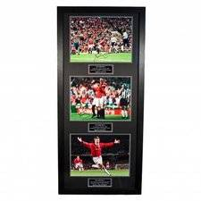 merchandise Manchester United Kehystetty Kuva Treble