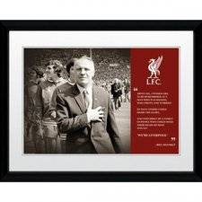 merchandise Liverpool Kehystetty Kuva Shankly