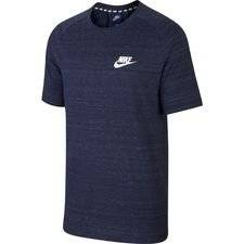 Nike T-paita NSW Advance 15 Knit - Navy/Heather/Valkoinen