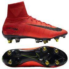 Nike Mercurial Superfly V SG-PRO Anti-Clog Fire - Punainen/Musta