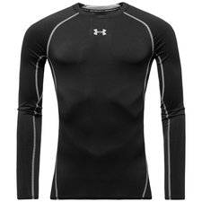 Under Armour Baselayer HeatGear Compression L/S - Musta