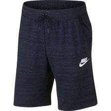 Nike Shortsit NSW Advance 15 Knit - Navy/Heather/Valkoinen