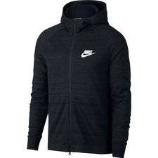 Nike Huppari NSW Advance 15 Knit - Musta/Heather/Valkoinen