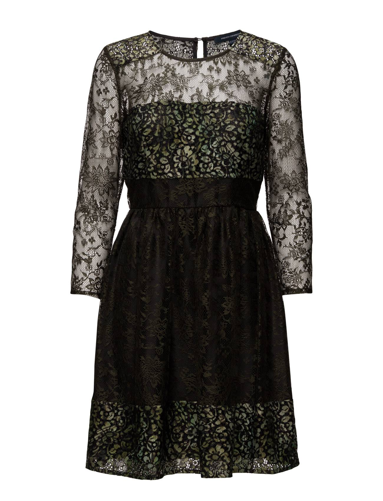 French Connection Molly Lace Ls Rdnk Dress