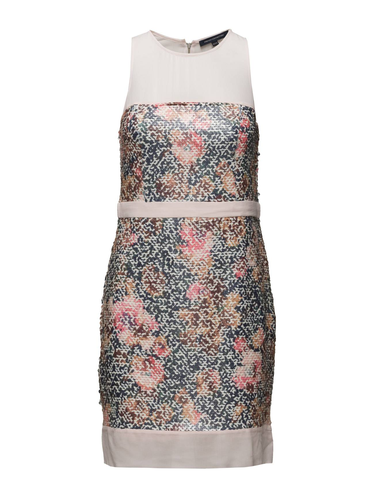 French Connection Adeline Dream Sequin S/Lss Drs