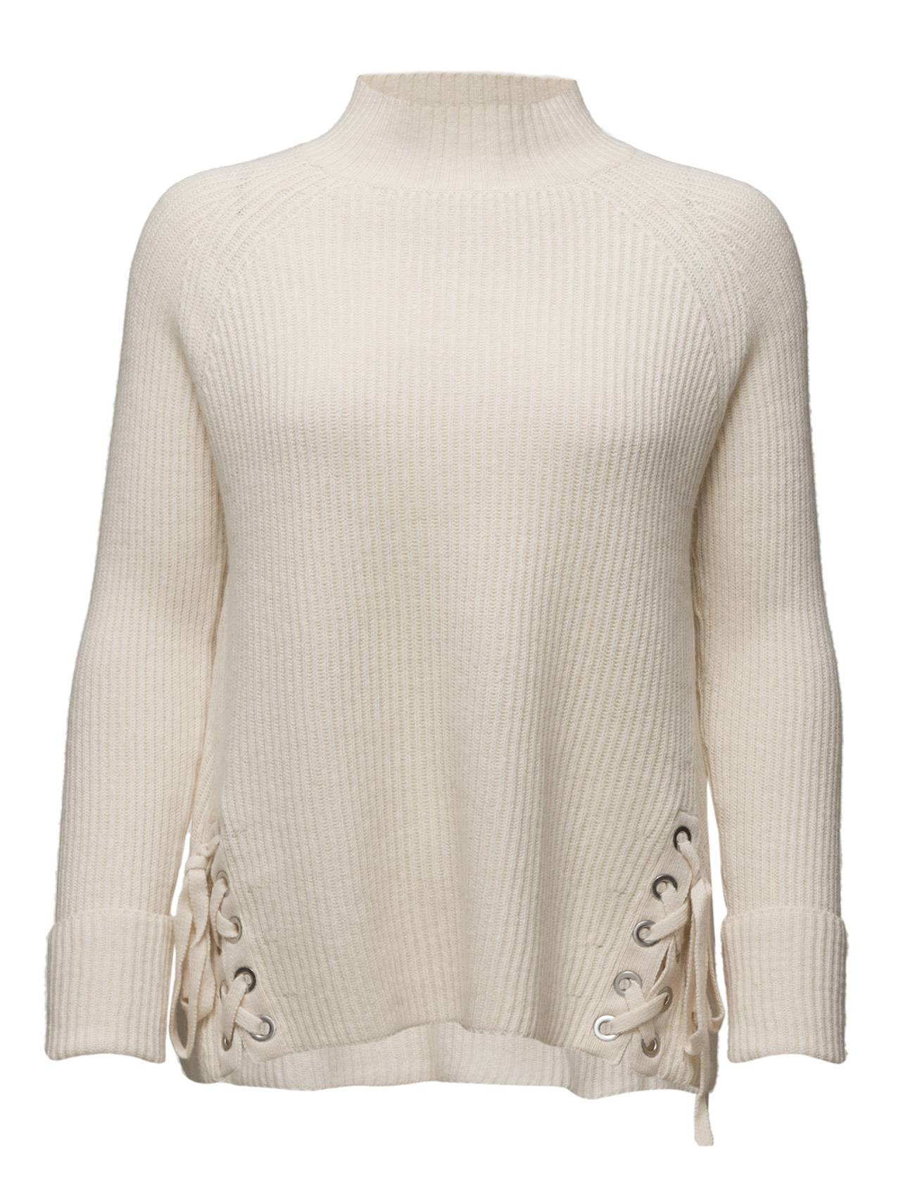 French Connection Freedom Fringe Knits Ls Highnk