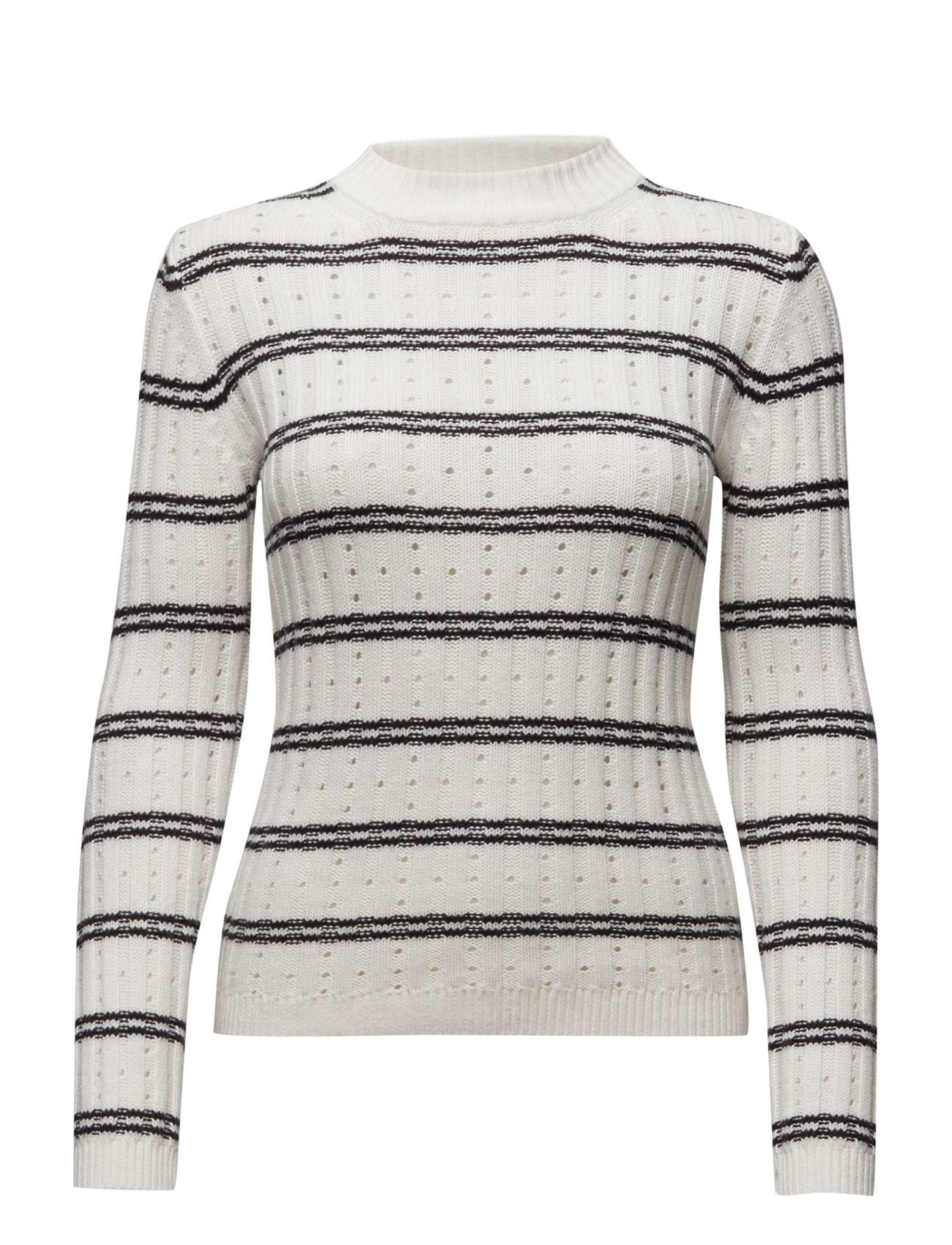 French Connection Po Rib Knits Ls High Neck Jmpr