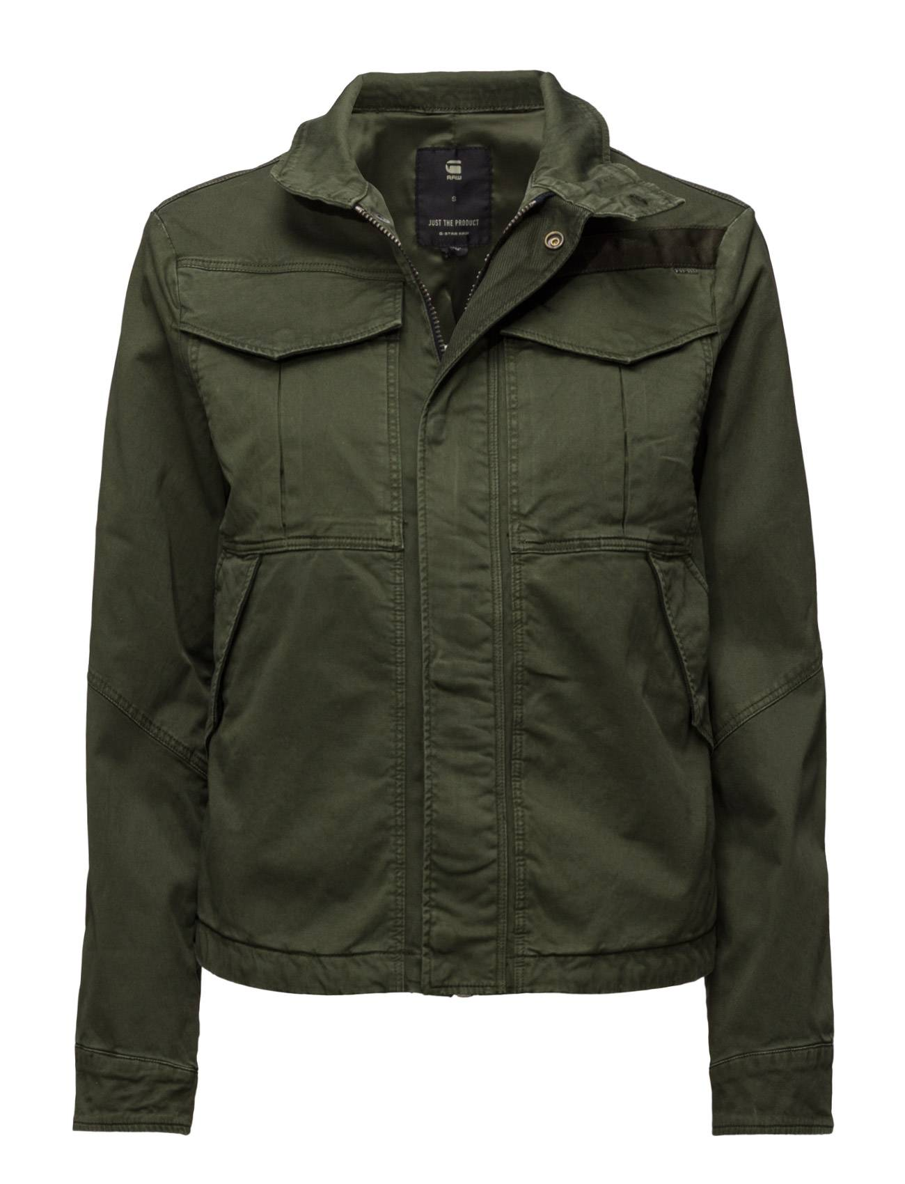 G-star Deline Field Cropped Overshirt Wmn