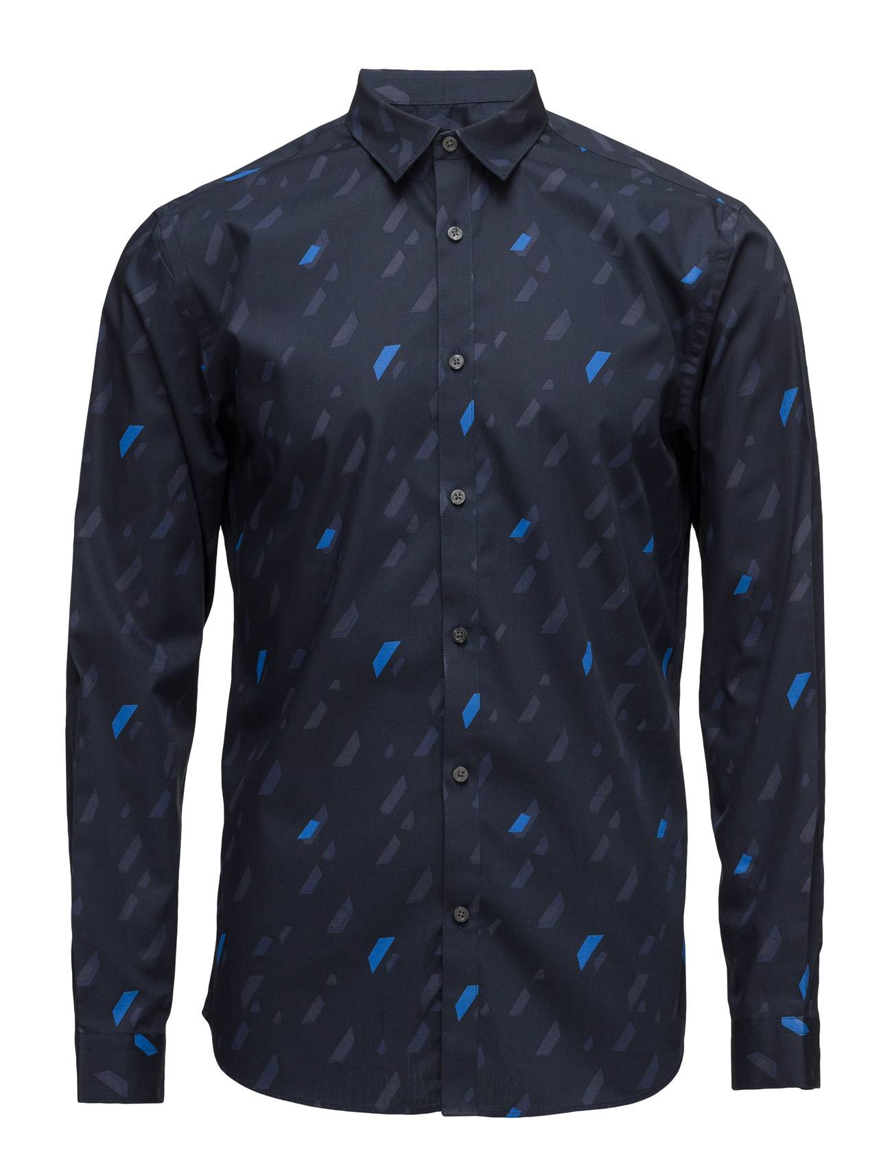 Jack & Jones Premium Jprgeometric Rain Shirt L/S Plain