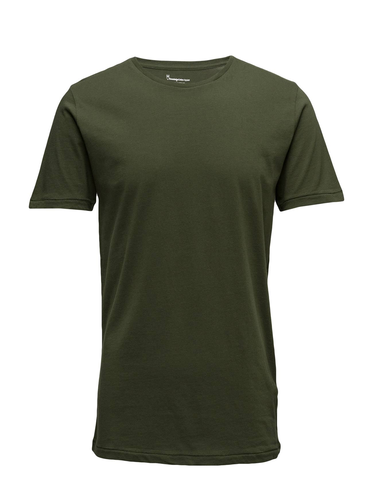 Knowledge Cotton Apparel Basic Regular Fit O-Neck Tee Gots