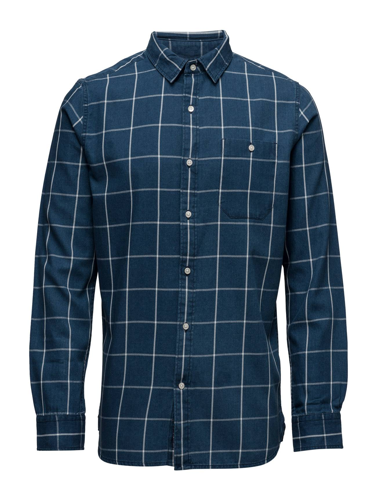 Knowledge Cotton Apparel Yarndyed Checked Shirt - Gots