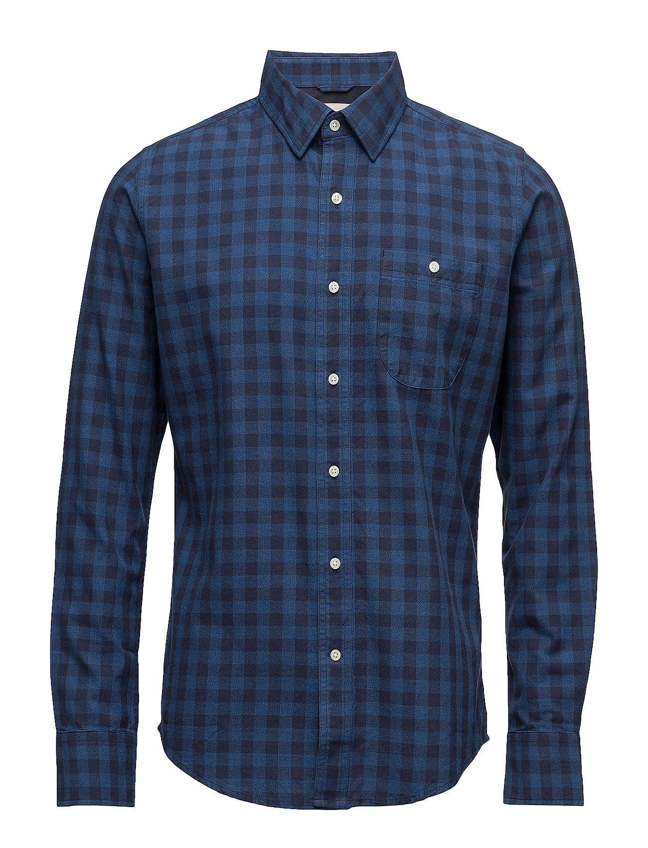 Knowledge Cotton Apparel Checked Shirt - Gots