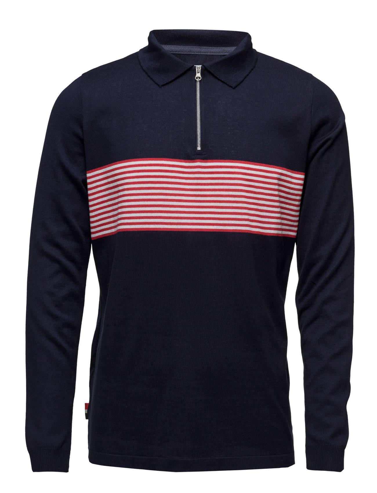 Le-Fix Disorder Polo Knit Ls