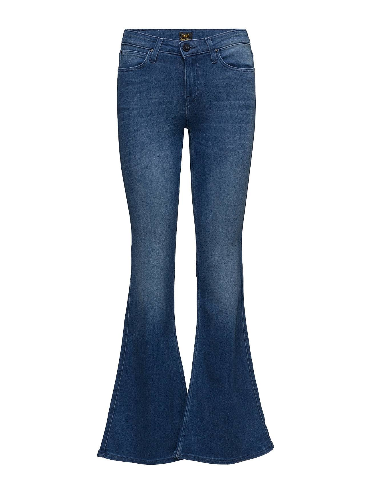 Lee Jeans Skinny Flare Worn Pacific