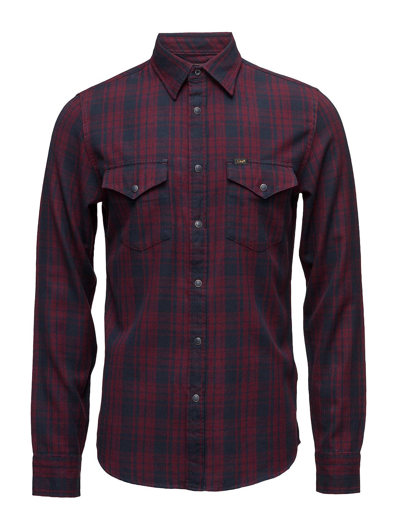Lee Jeans Lee Western Shirt Tawny Port