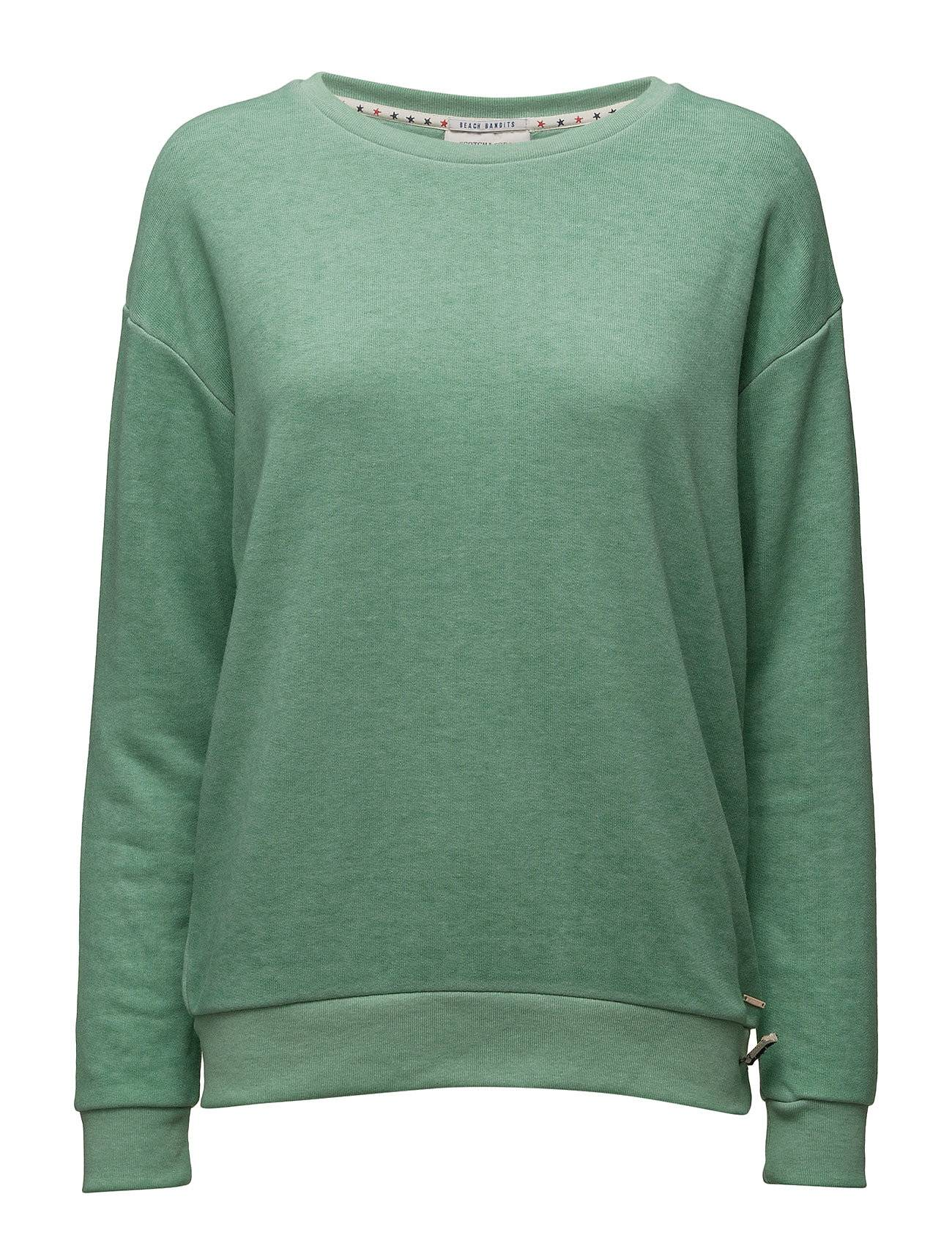 Scotch & Soda Solid Sweat In Burn Out Quality