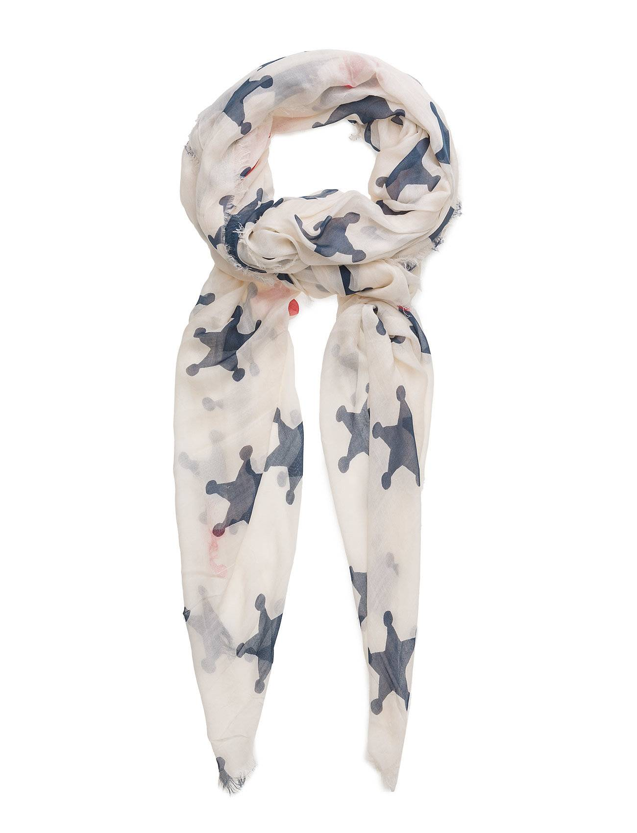 Scotch & Soda Scarf With Various Allover Prints