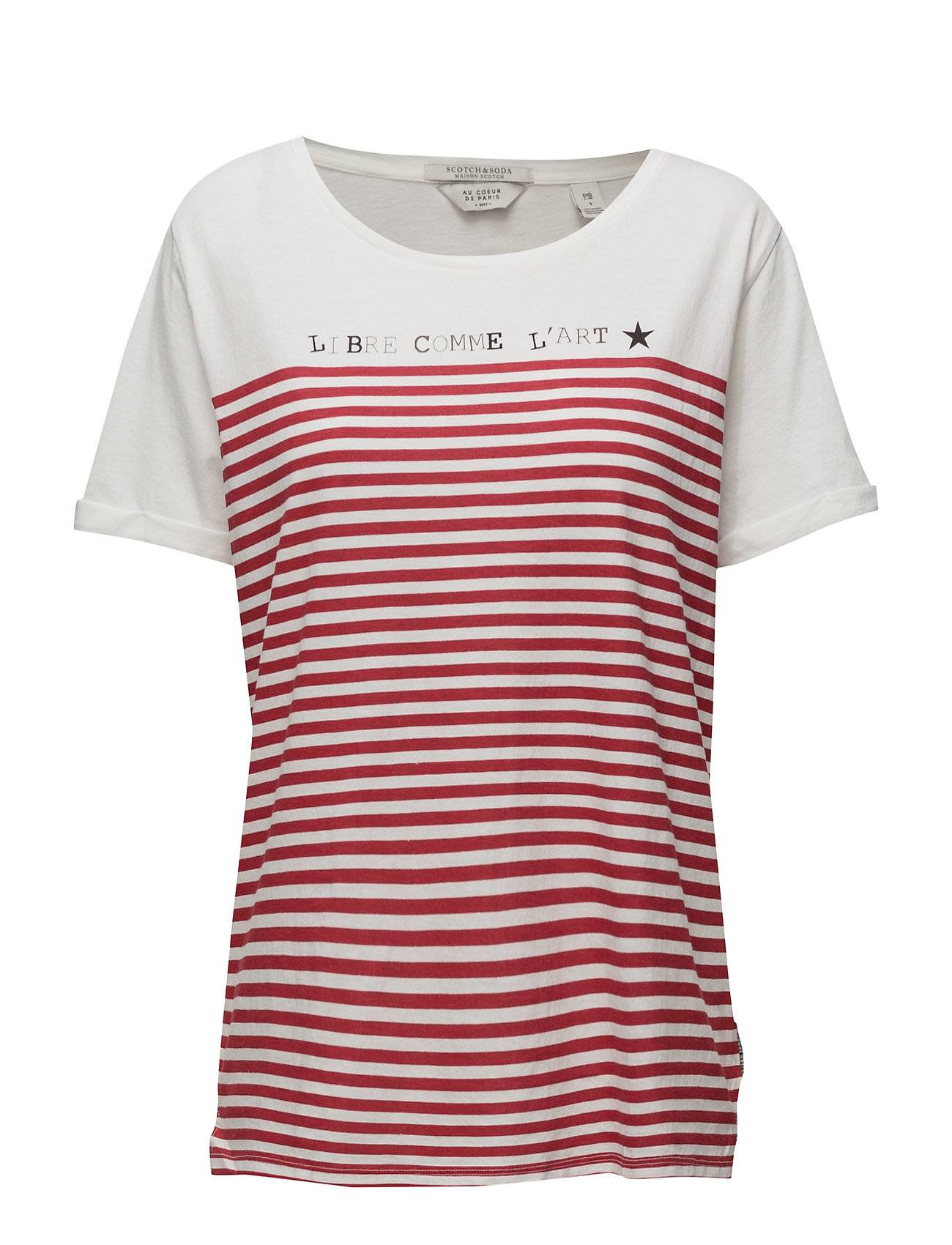 Scotch & Soda French Inspired Short Sleeve Tee