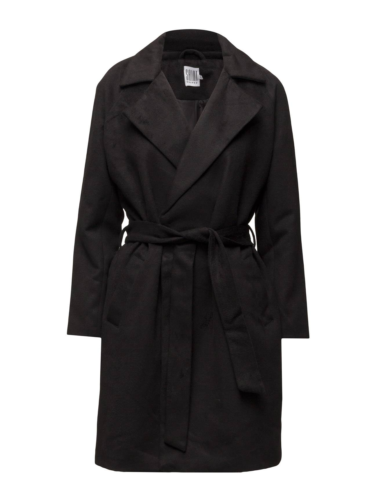 Saint Tropez Brushed Trench Coat