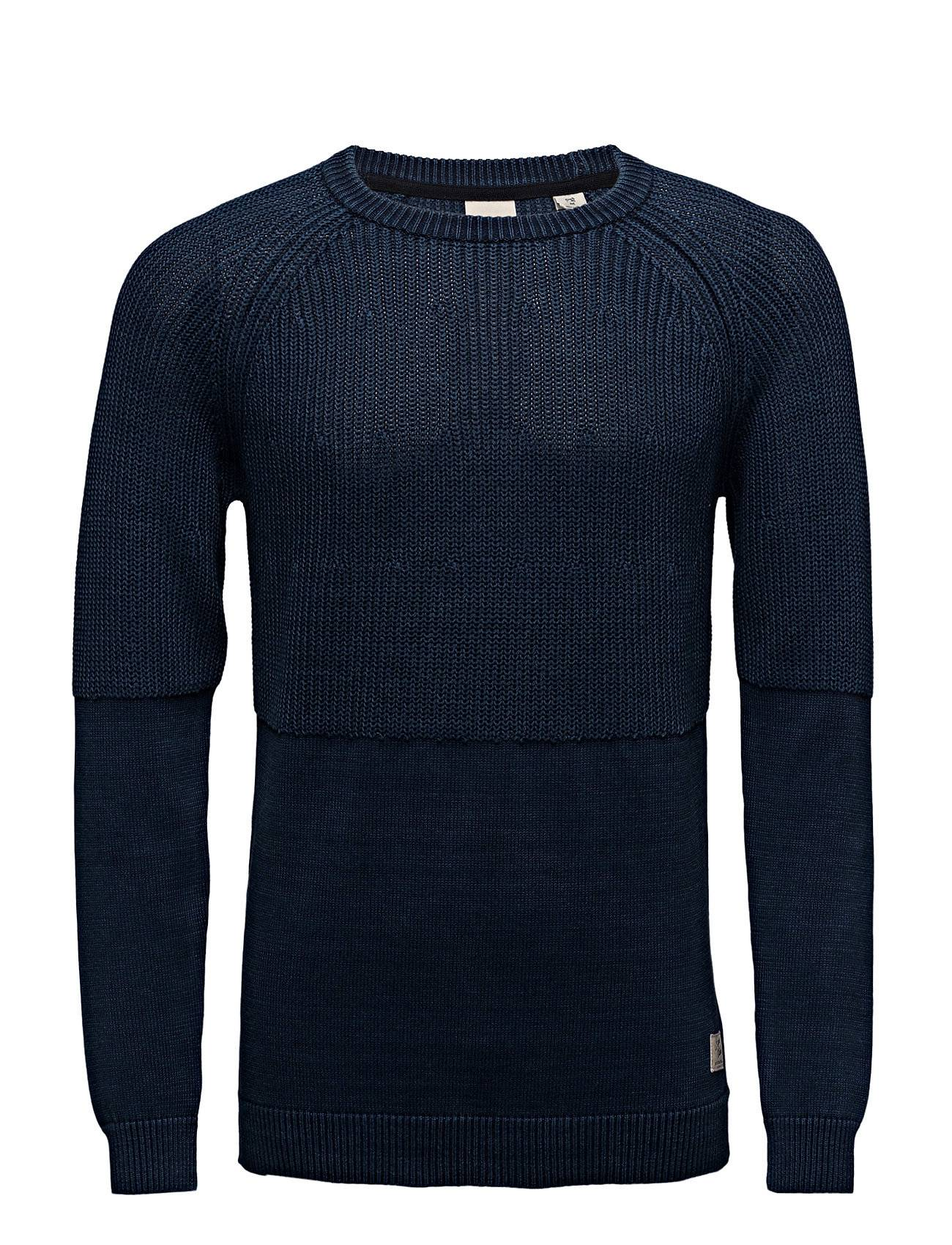 Scotch & Soda Home Alone Structured Crew Neck Knit