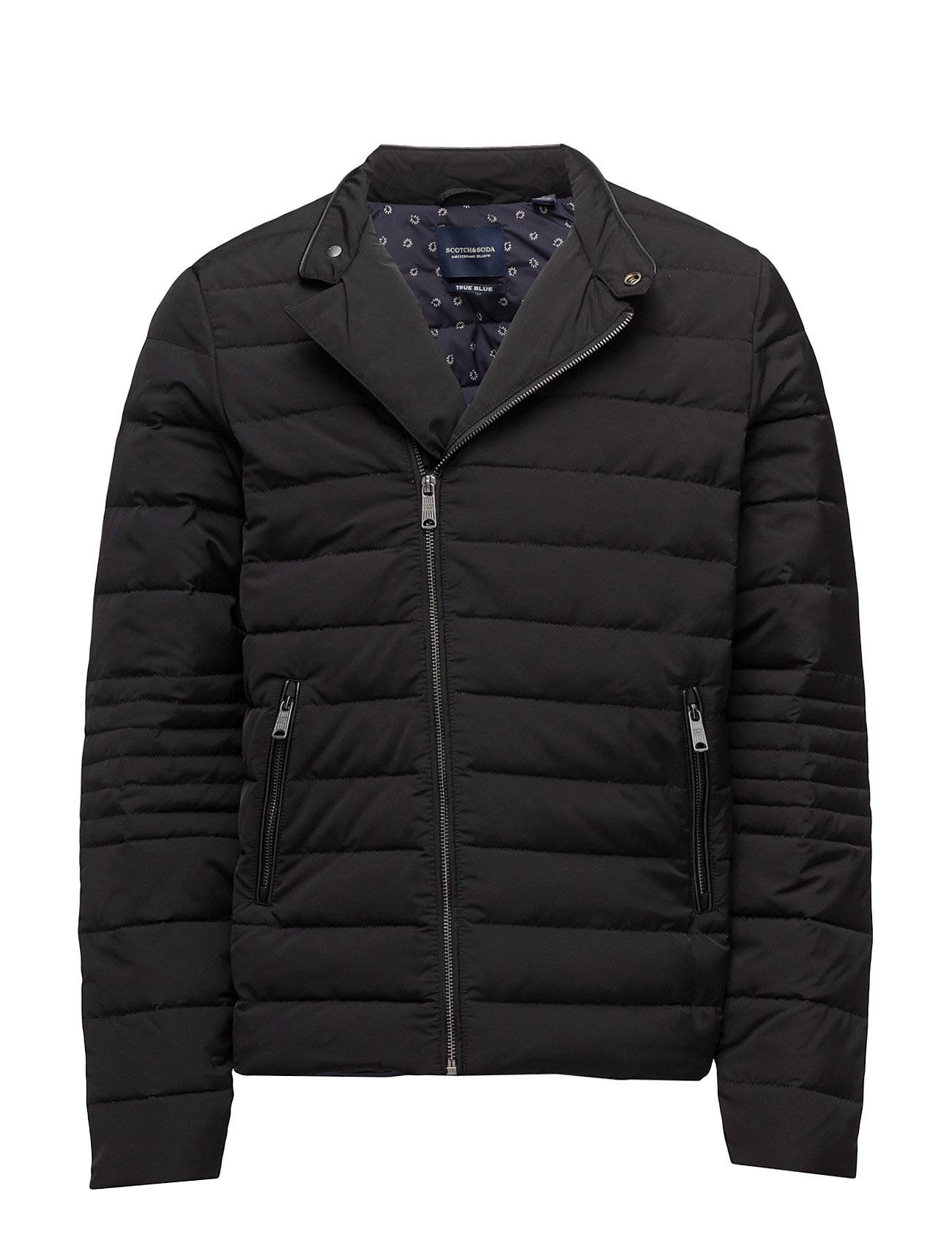 Scotch & Soda Lightweight Quilted Jacket With Real Down Filling