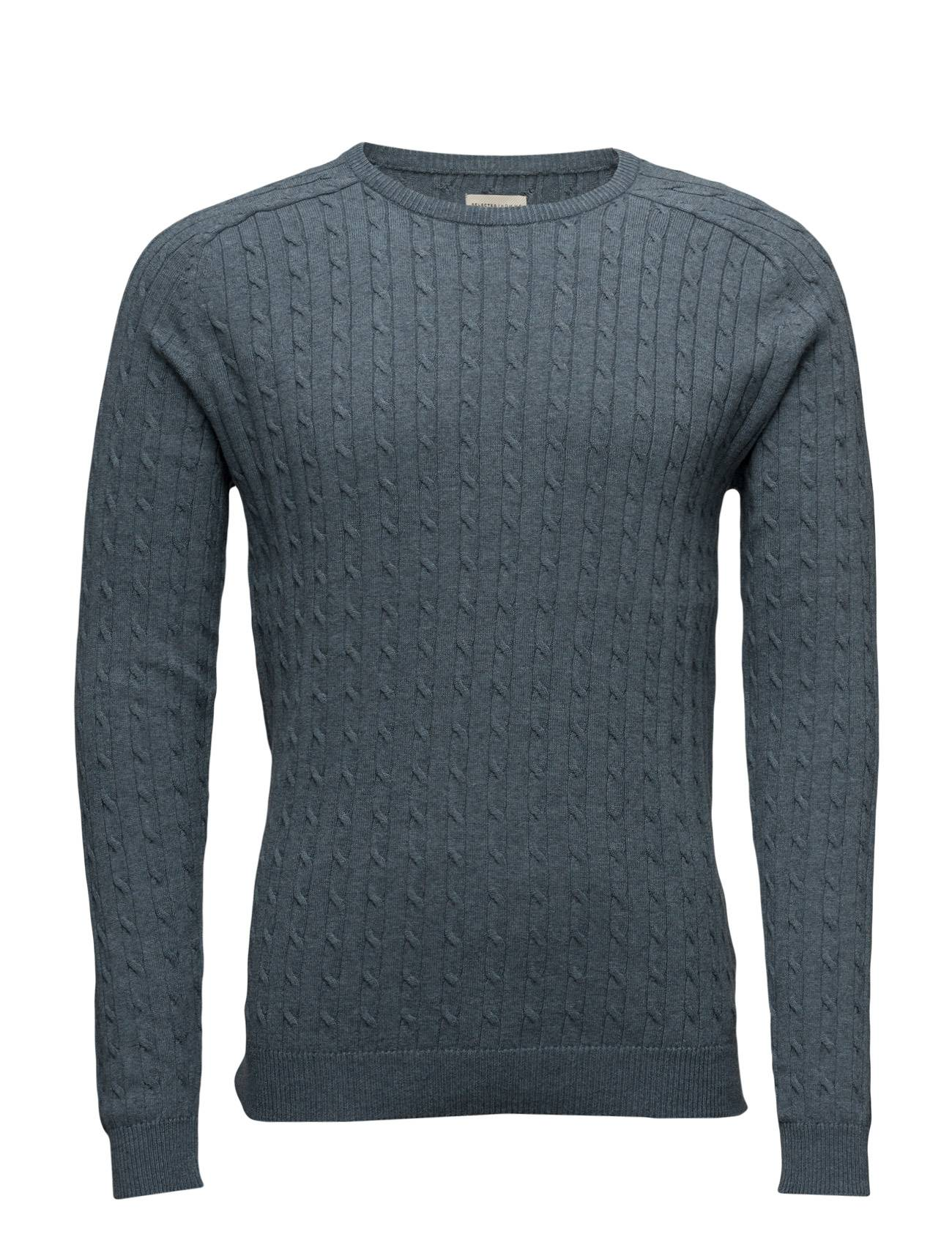 Selected Homme Shhclay Cable Crew Neck