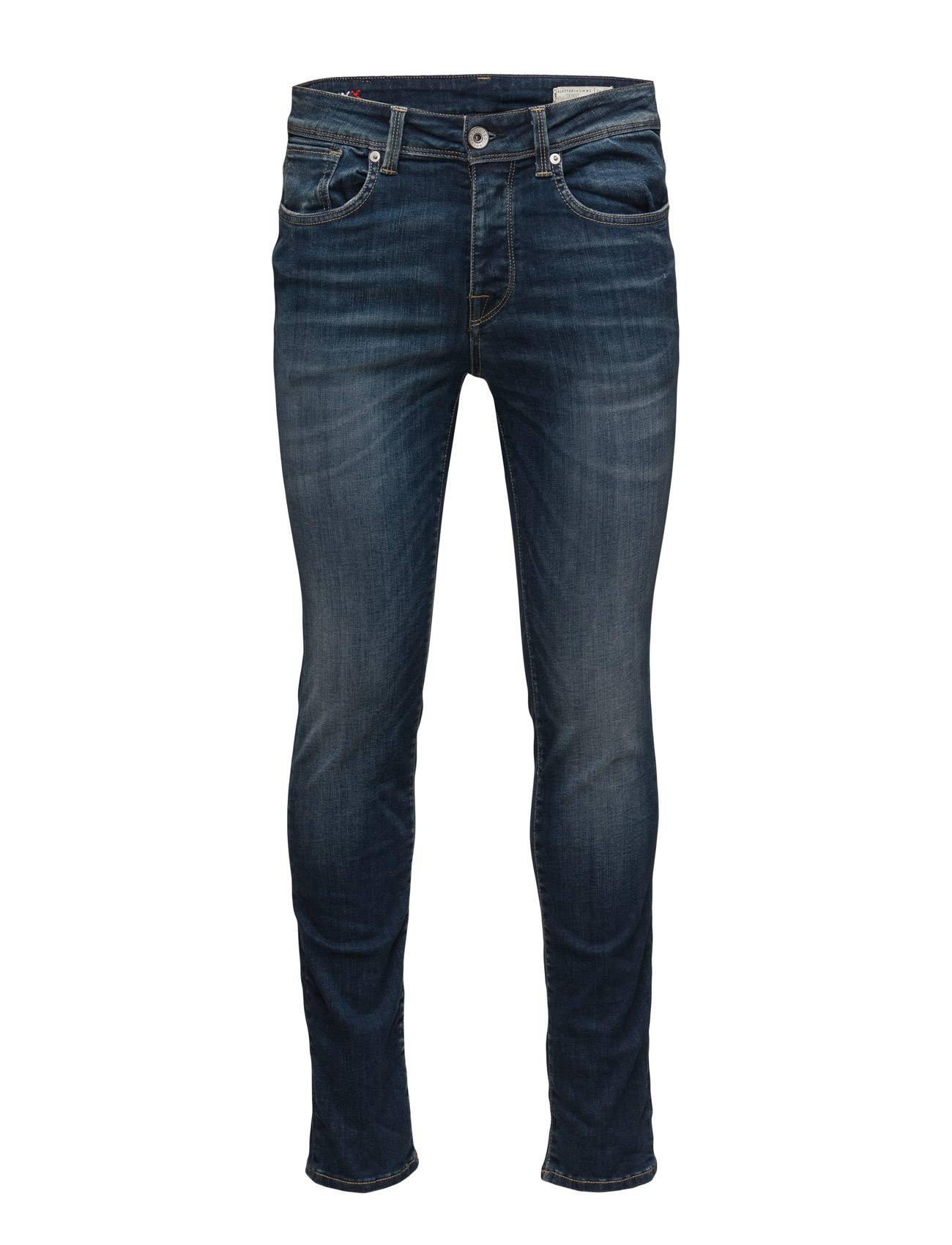 Selected Homme Shnonefabios 1413 Mid.Blue St Jeans Noos